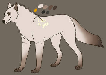 Wolf-Mother by DotsofLight