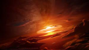 Burning Horizon by pan-pks