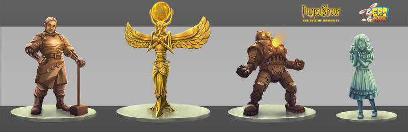 ERS - PS8 - Statuetes Concepts by deArcane