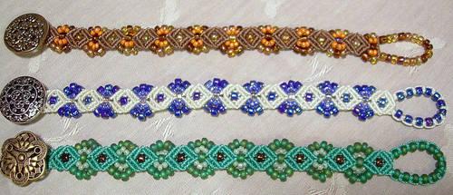 Collection - Macrame Bracelets by KnotGypsy