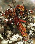 Shin Musha Gundam: Dramatica by sandrum