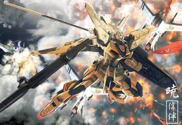 Akatsuki Gundam's Destiny by sandrum