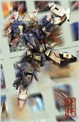Impulse Gundam: Just an ID by sandrum
