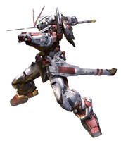 Gundam Astray Red Frame by sandrum