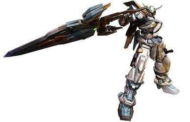 Gundam Astray Blue Frame Second L by sandrum