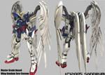Gundam Wing Zero Custom by sandrum