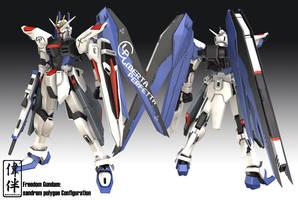 Freedom Gundam: Riparato by sandrum