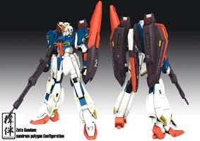 Zeta Gundam by sandrum