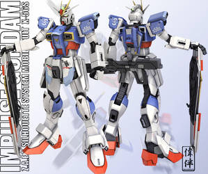 Impulse Gundam - Ricombinato by sandrum