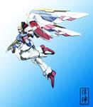 Wing Gundam: Early Avatar by sandrum
