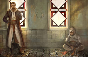 Malik and Altair by godforget