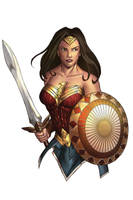Wonder Woman by dotlineshape