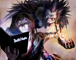 The Death Note by Doomsplosion