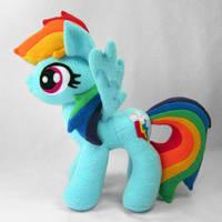 Rainbow Dash v2 by fabricninja