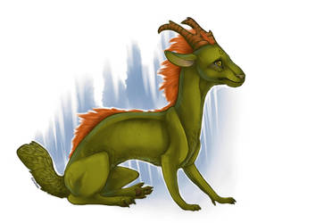 Forest Dragon by RivenTear