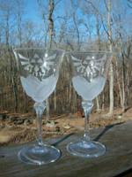 Zelda Royal Crest Wine Glass Set- by ZombieBunnySlaya