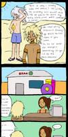 Marik and Bakura's holiday by indecisivepancake