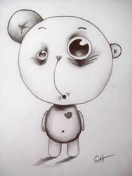 Psycho Bear - 'Have Heart' by CharlieHerbs
