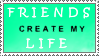 Friends-life Stamp by Bubel-Coyot