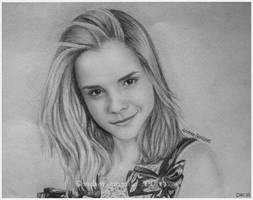 Emma Watson by Esmaice