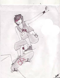 Skater Boy by redlotus28