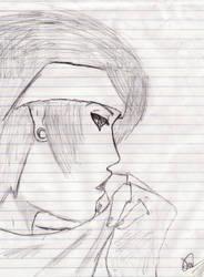 Emo Boy Sketch 3 by redlotus28