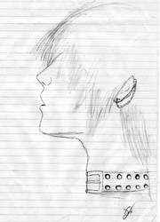 Emo Boy Sketch 2 by redlotus28