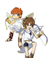 Kid Icarus: Pit by EarthB-Kun