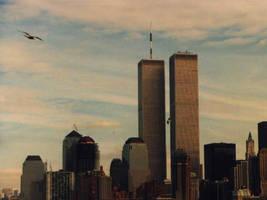 World Trade Center, 1986 by GrowHerbs