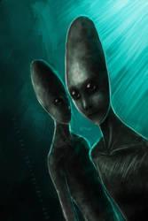 Extraterrestrial by gavrieel