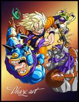 Goku fight by PhazeN1