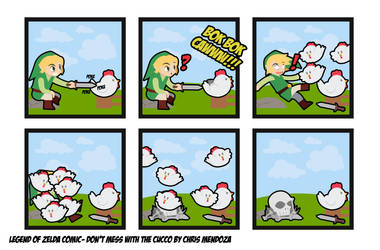 Legend Of Zelda Comic: Don't Mess With The Cucco by CmOrigins