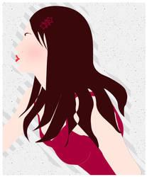 Vector kiss by aditachan