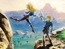 A year later, ... (Zelda, BOTW) by Ayatonas