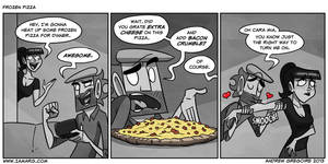 Frozen Pizza by IAMARG