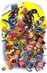 Super Smash Bros Melee by IAMARG
