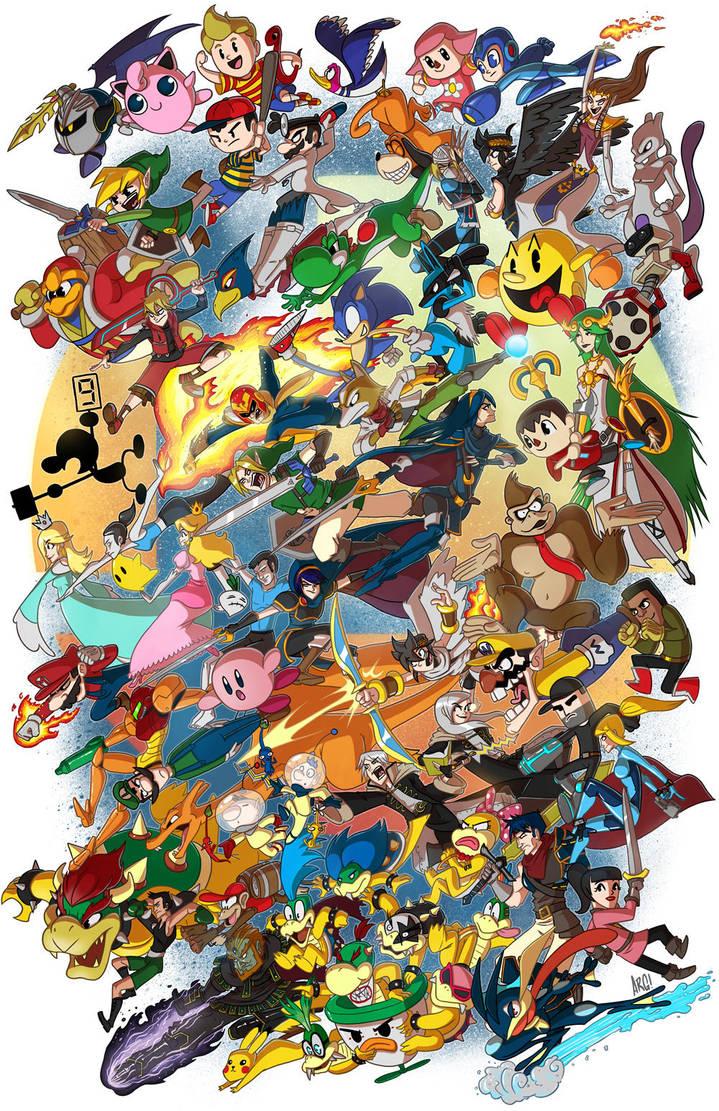Smash 4! by IAMARG