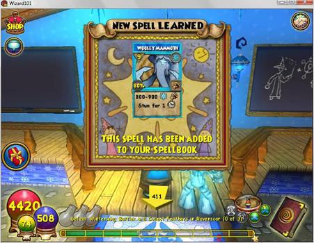 Wizard101 Level 68 Spell By Catalystmaniac On Deviantart