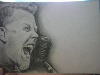 James Hetfield (from Metallica) + TIME LAPSE VIDEO by Rooivalk1
