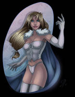 Emma Frost by SChappell
