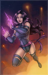 Psylocke by SChappell