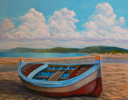 Beached Boat 2 by SChappell
