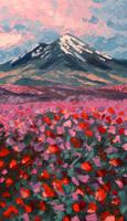 Mt. Saint Helens by SChappell