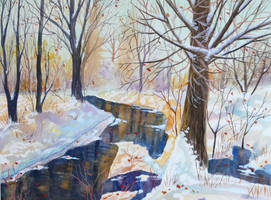 Winter Creek by SChappell