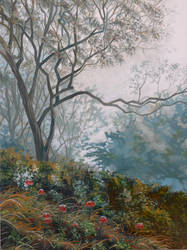 Somber Haze by SChappell