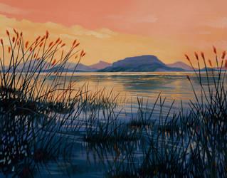 Marsh Sunset by SChappell