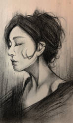 Untitled Charcoal by SChappell