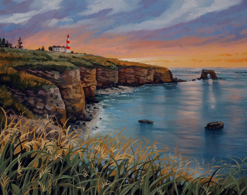 Seaside Sunset by SChappell