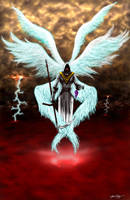 Harvest Angel by sebadorn
