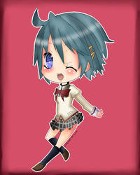 sayaka by cutiepiegirl95